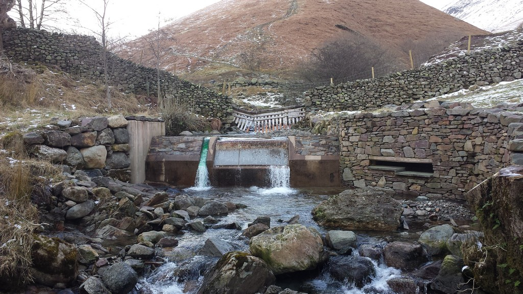 Tongue Gill Hydro Electric Scheme Intake, Cumbria